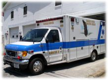 Eagle Rock Rescue Ambulance 555