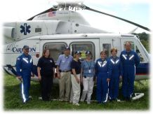 Carilion Hospital LifeGuard 10 Medivac Helicopter